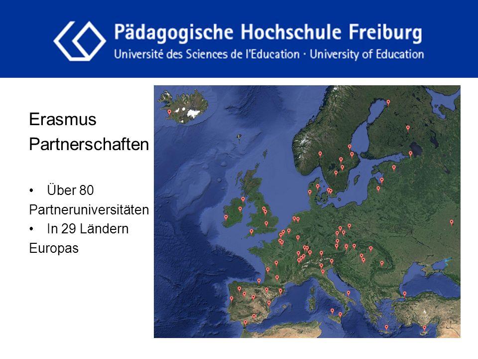 fdgfg Erasmus Partnerschaften Über 80 Partneruniversitäten