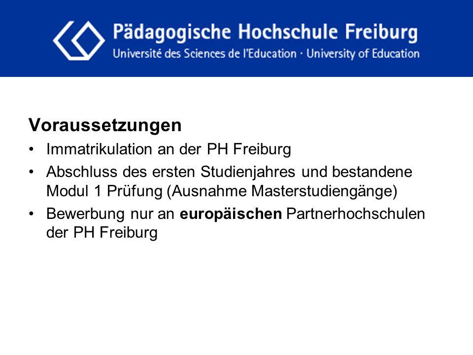 fdgfg Voraussetzungen Immatrikulation an der PH Freiburg