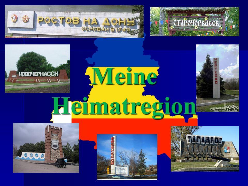 Meine Heimatregion