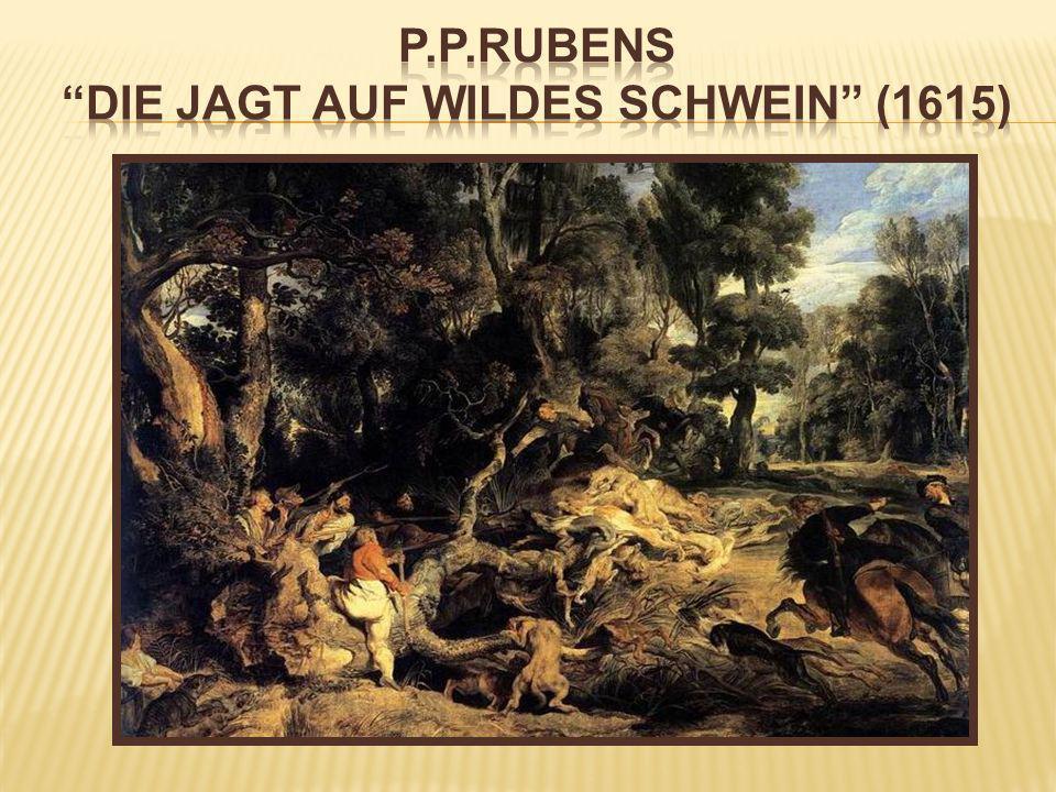 P.P.Rubens Die Jagt auf wildes Schwein (1615)