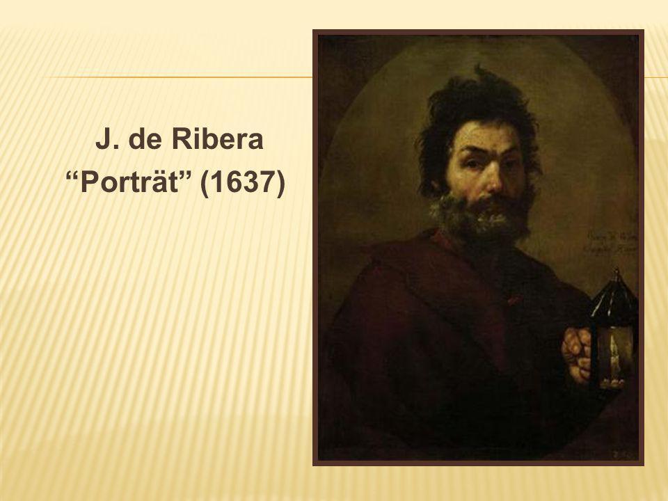 J. de Ribera Porträt (1637)