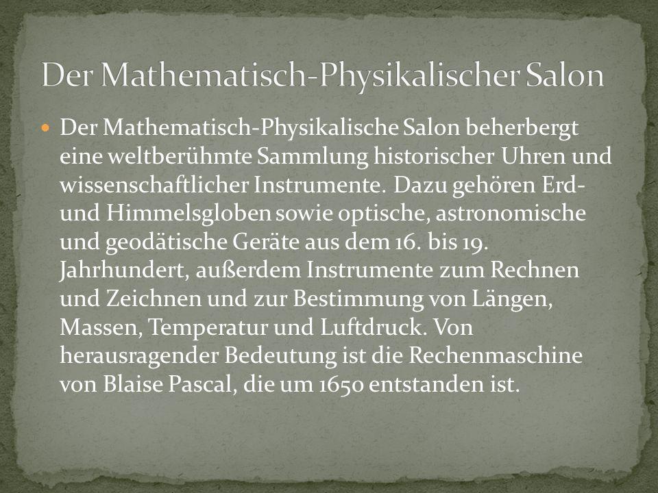 Der Mathematisch-Physikalischer Salon