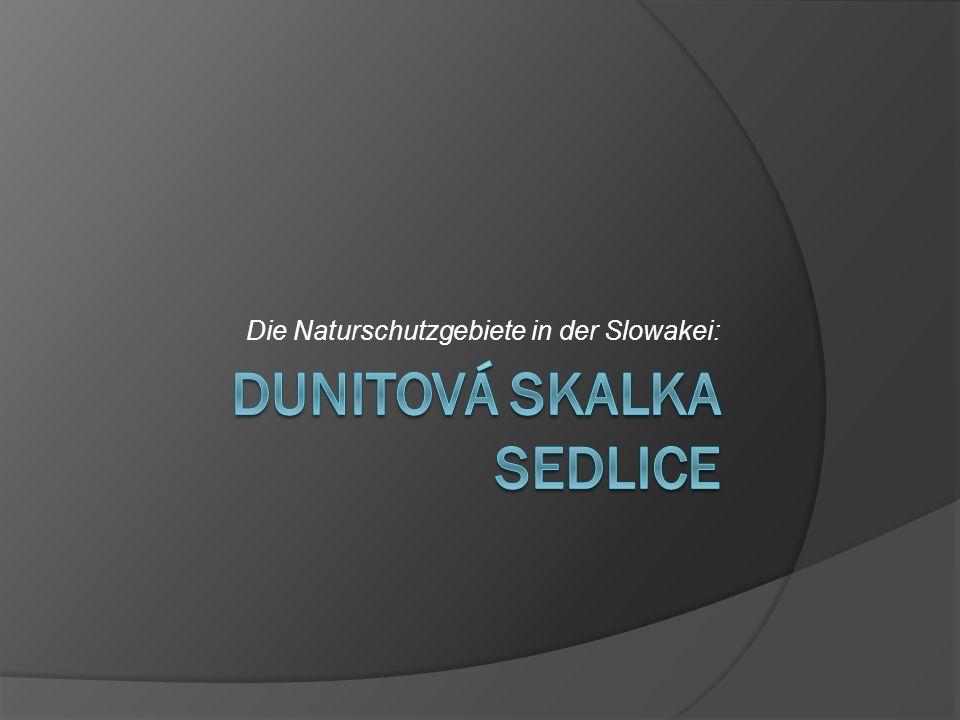Dunitová Skalka SEDLICE