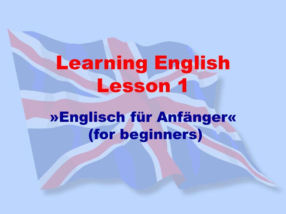 »Englisch für Anfänger«