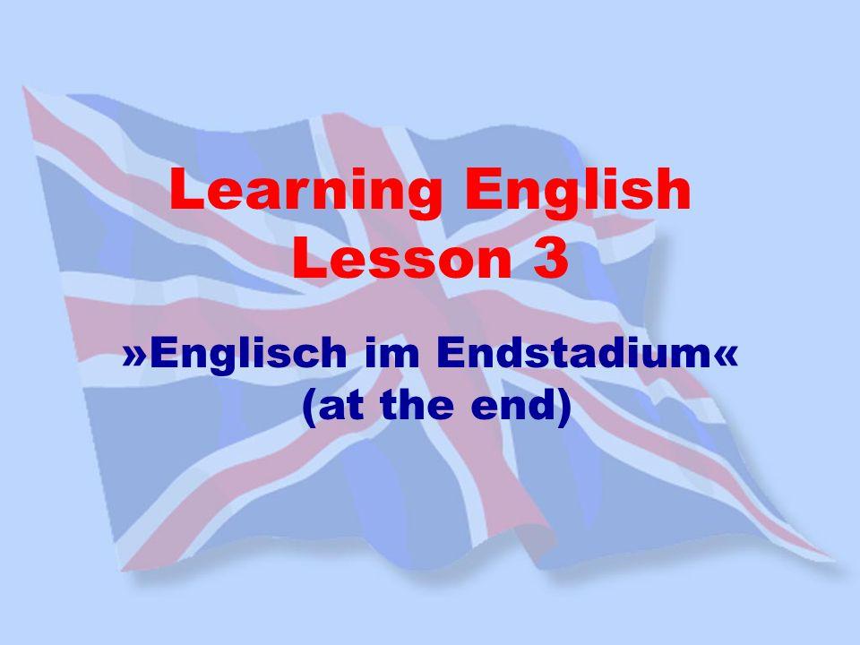»Englisch im Endstadium«