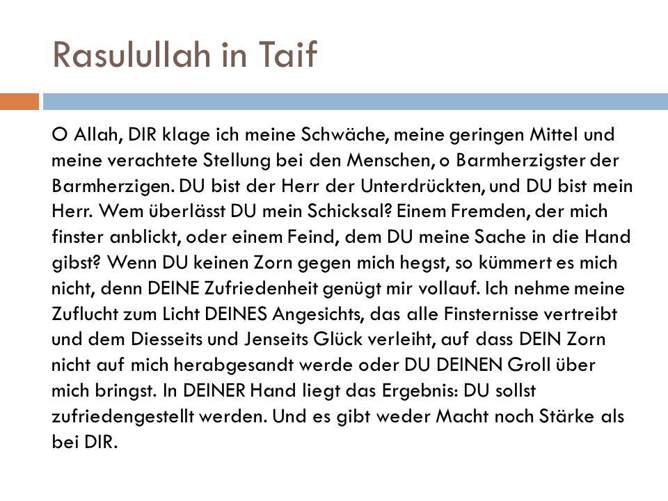 Rasulullah in Taif
