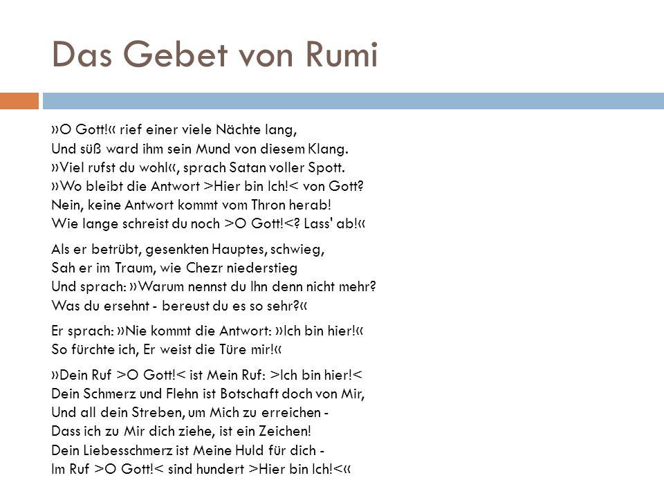 Das Gebet von Rumi