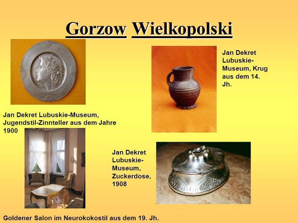 Gorzow Wielkopolski Jan Dekret Lubuskie-Museum, Krug aus dem 14. Jh.