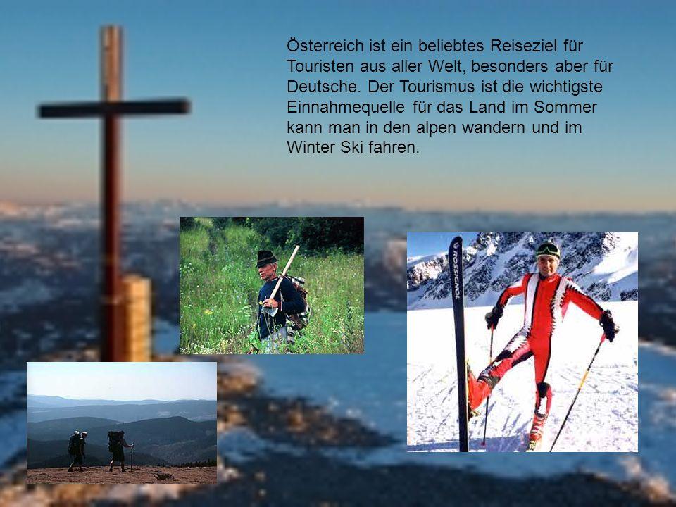 Österreich ist ein beliebtes Reiseziel für Touristen aus aller Welt, besonders aber für Deutsche.