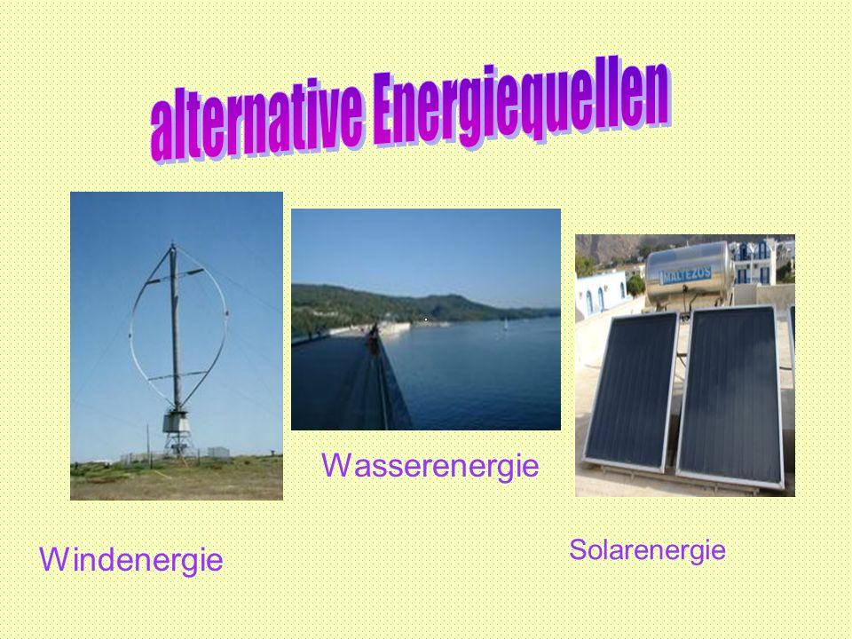 alternative Energiequellen