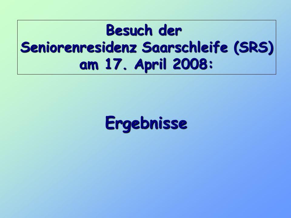 Seniorenresidenz Saarschleife (SRS)