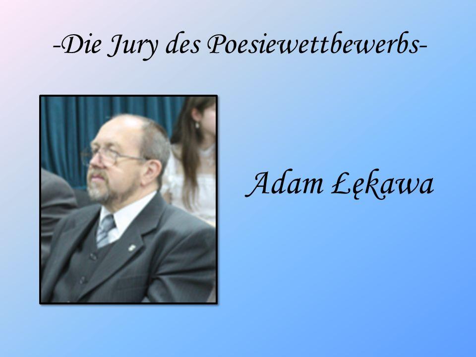 -Die Jury des Poesiewettbewerbs-