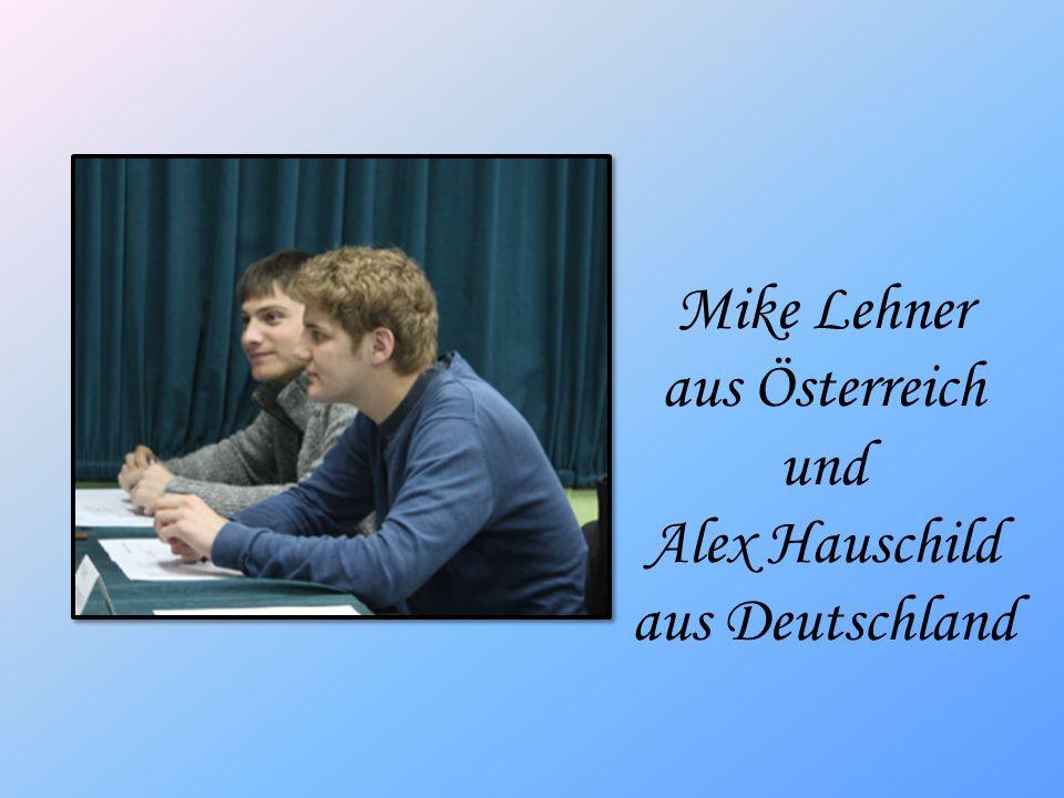 Mike Lehner aus Österreich und Alex Hauschild aus Deutschland