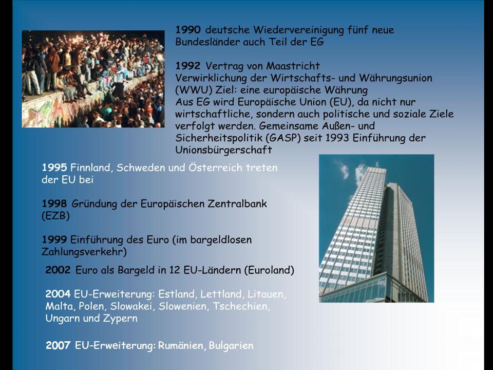 2007 EU-Erweiterung: Rumänien, Bulgarien