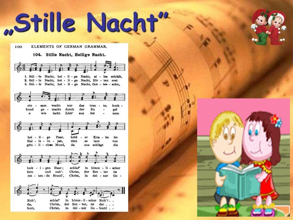 """""""Stille Nacht"""