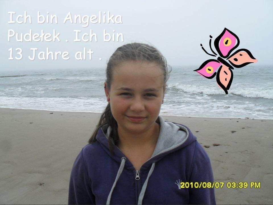 Ich bin Angelika Pudełek . Ich bin 13 Jahre alt .