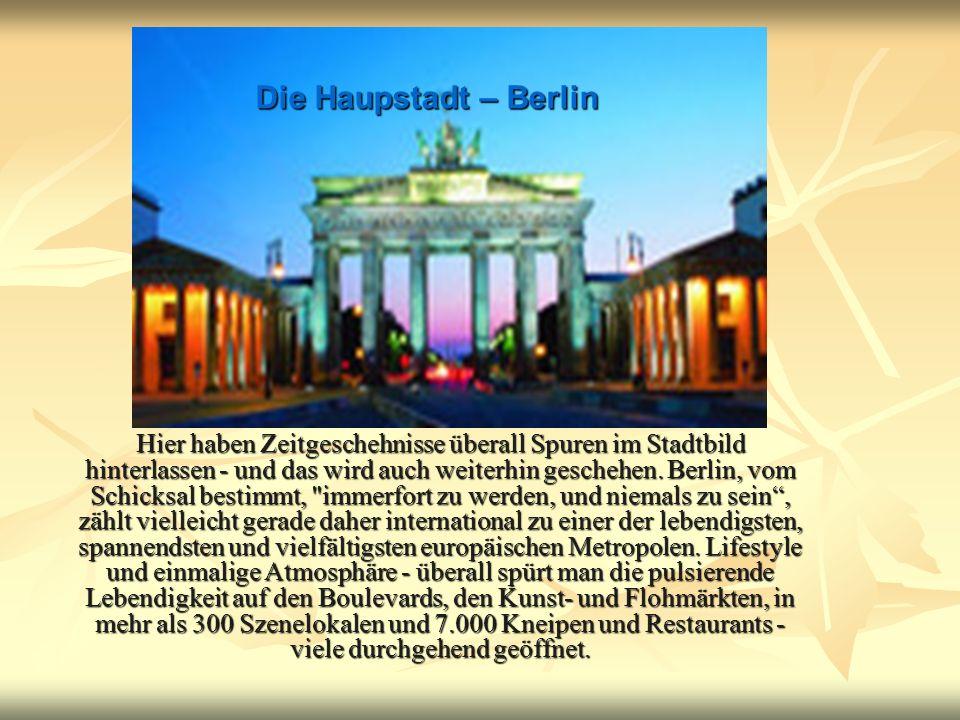 Die Haupstadt – Berlin