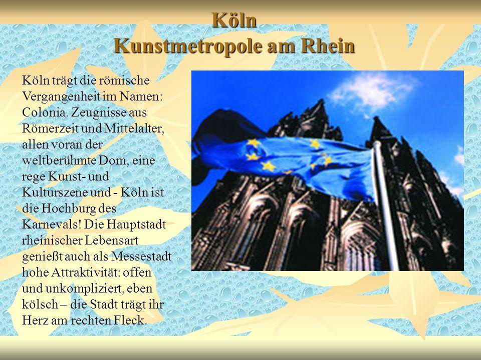 Köln Kunstmetropole am Rhein