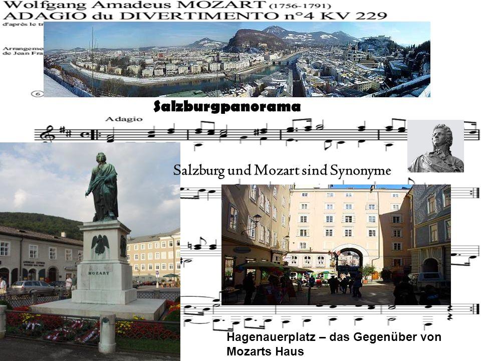 Salzburg und Mozart sind Synonyme