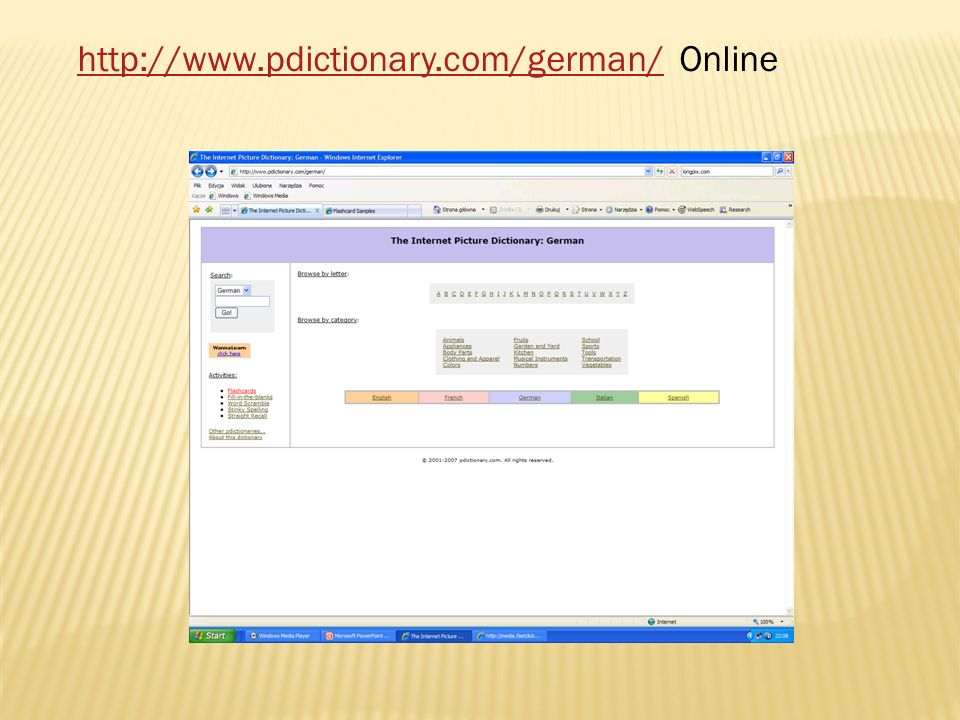 http://www.pdictionary.com/german/ Online