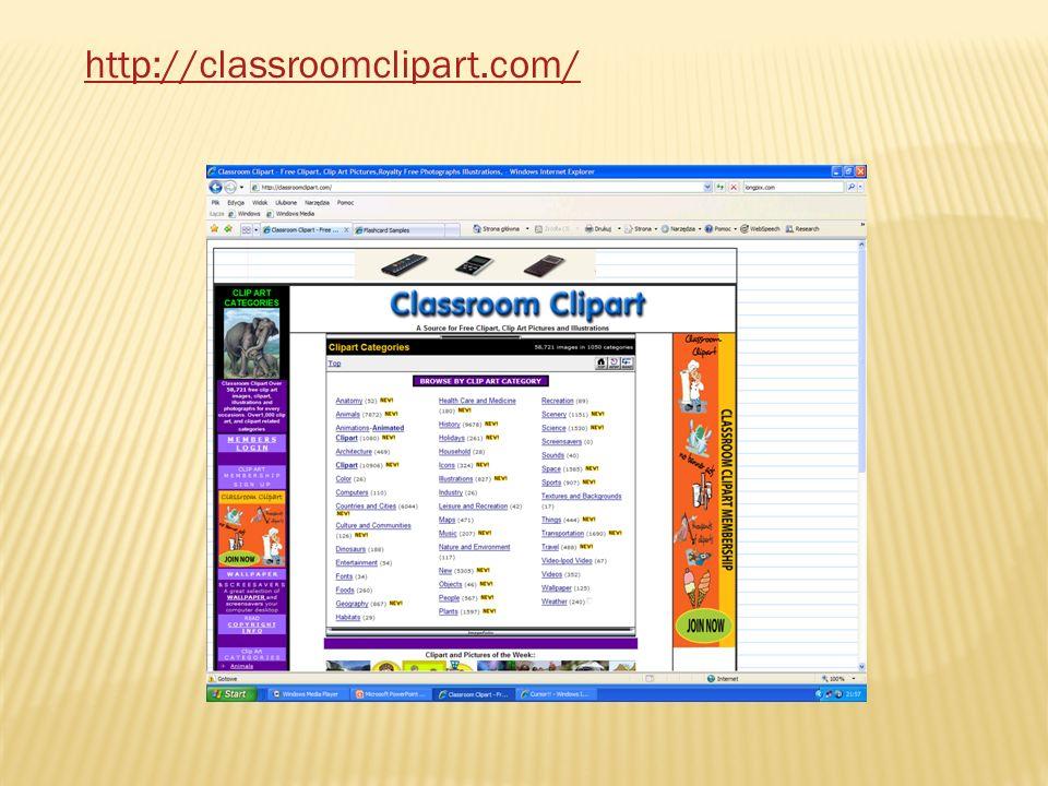 http://classroomclipart.com/