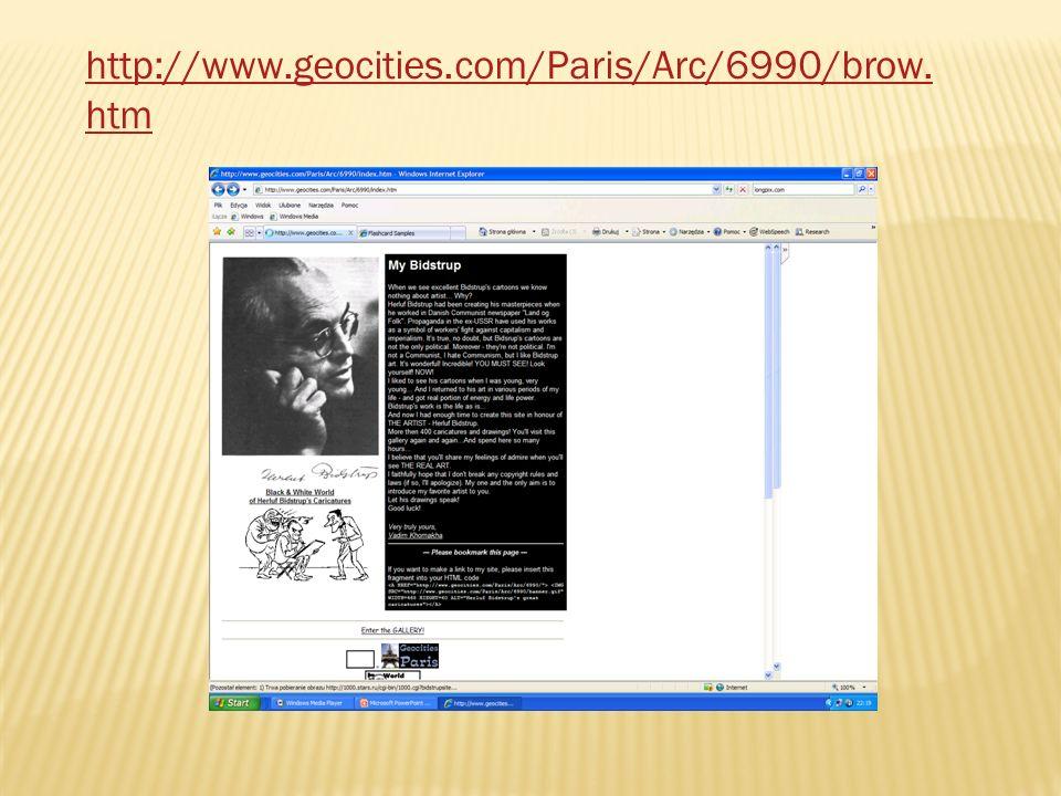 http://www.geocities.com/Paris/Arc/6990/brow.htm