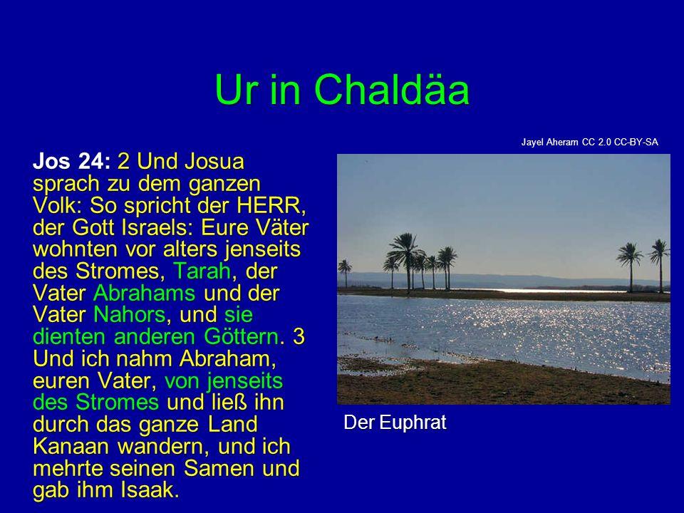 Ur in Chaldäa Der Euphrat
