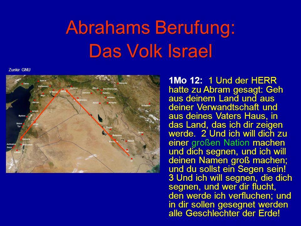 Abrahams Berufung: Das Volk Israel