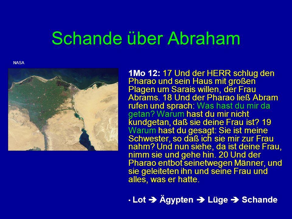 Schande über Abraham NASA.