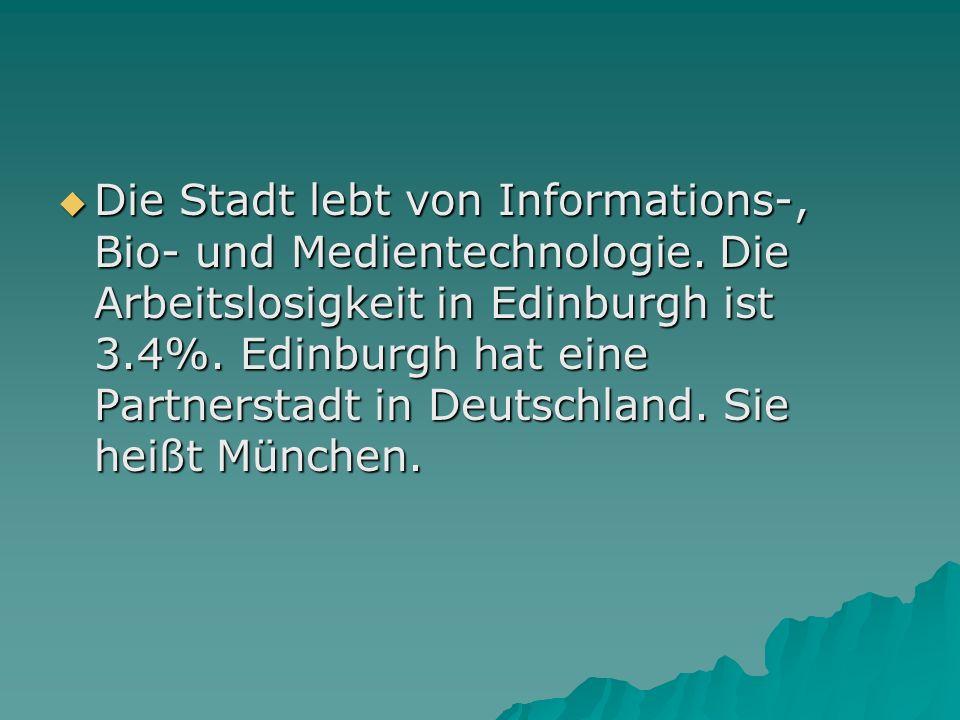 Die Stadt lebt von Informations-, Bio- und Medientechnologie