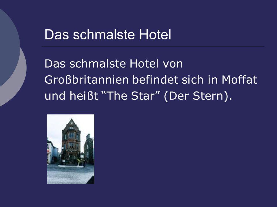 Das schmalste Hotel Das schmalste Hotel von