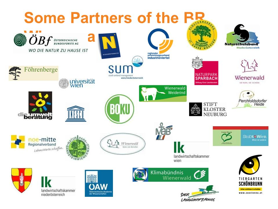 Some Partners of the BR Wienerwald