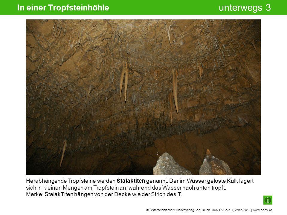 In einer Tropfsteinhöhle