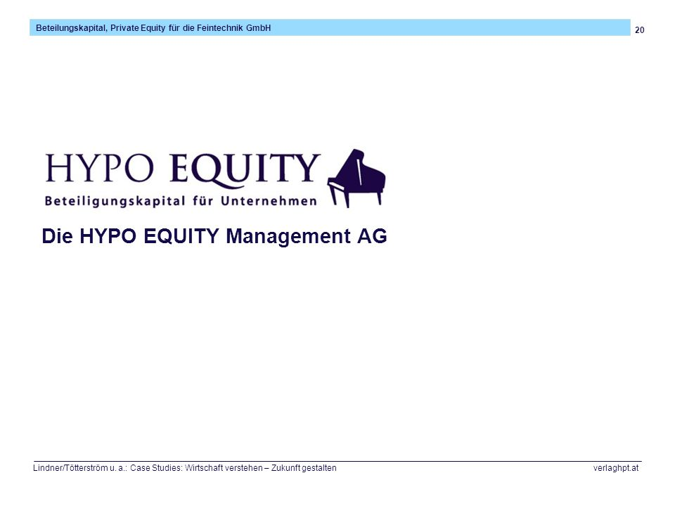 Die HYPO EQUITY Management AG
