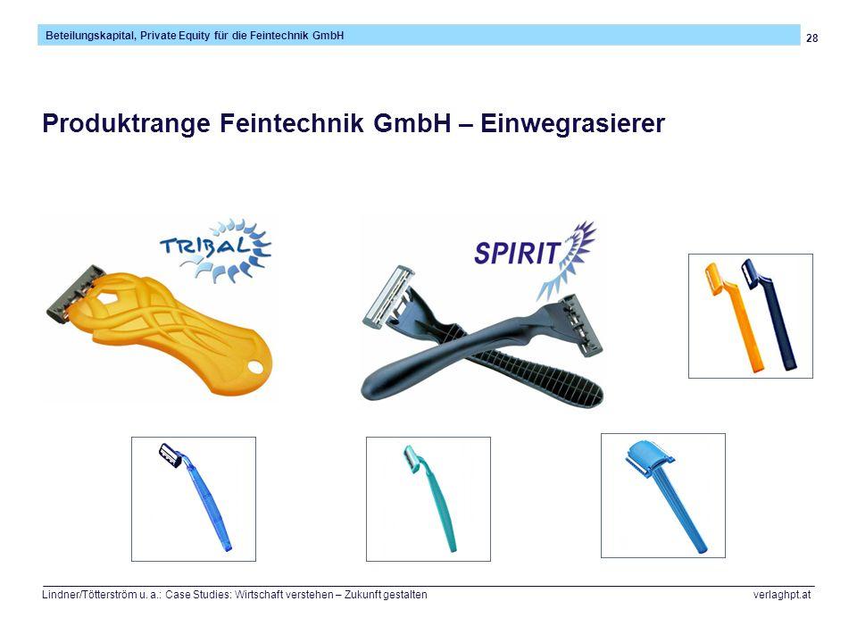 Produktrange Feintechnik GmbH – Einwegrasierer