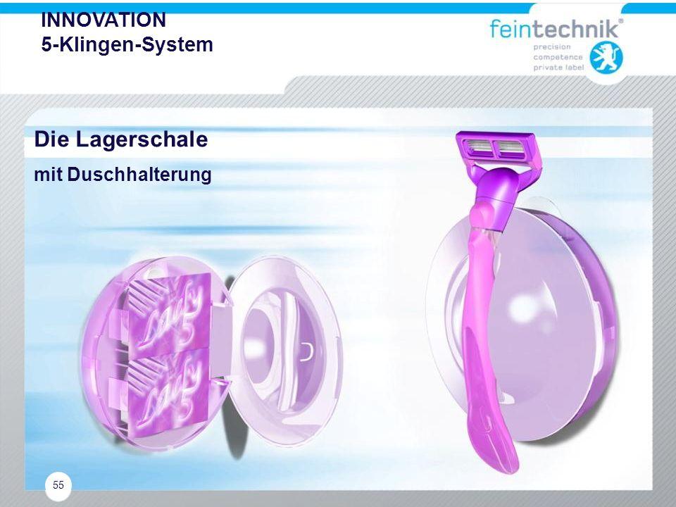 INNOVATION 5-Klingen-System