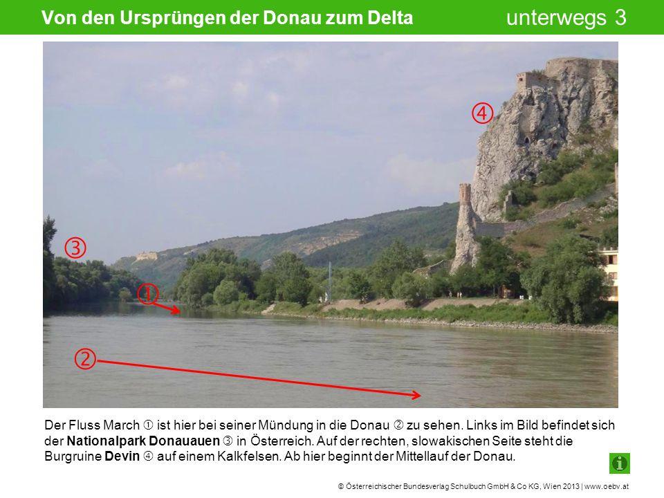 Von den Ursprüngen der Donau zum Delta