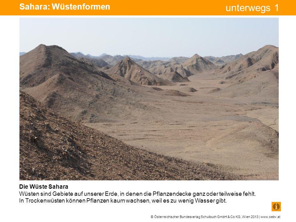 Sahara: Wüstenformen Die Wüste Sahara