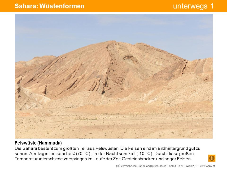 Sahara: Wüstenformen Bohrturm Pumpe Pumpe Felswüste (Hammada)
