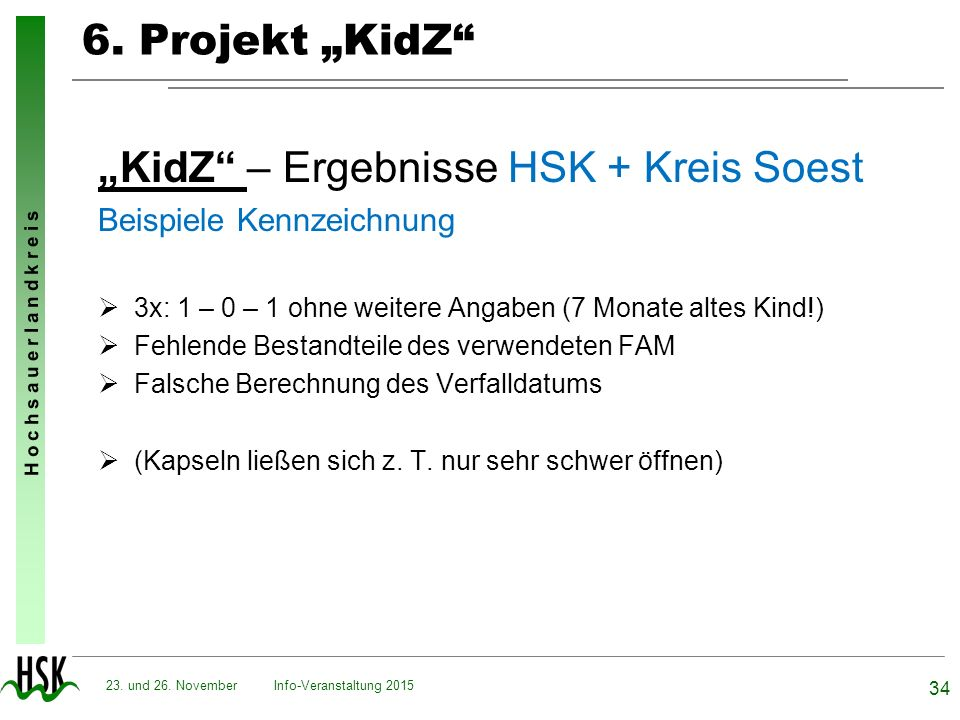 """KidZ – Ergebnisse HSK + Kreis Soest"