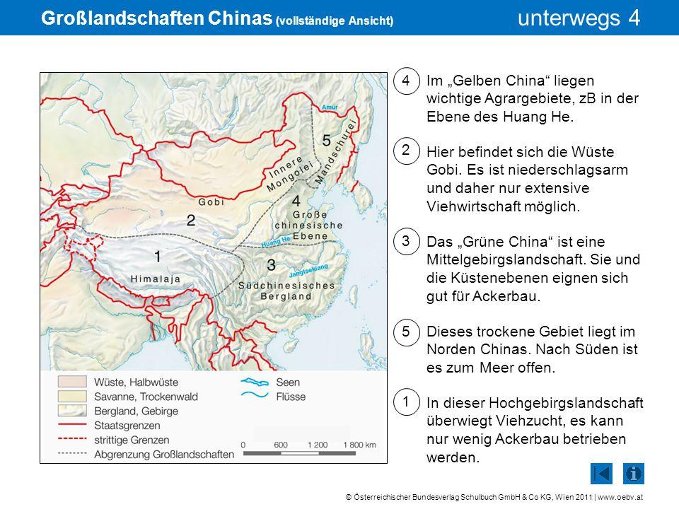 Großlandschaften Chinas (vollständige Ansicht)