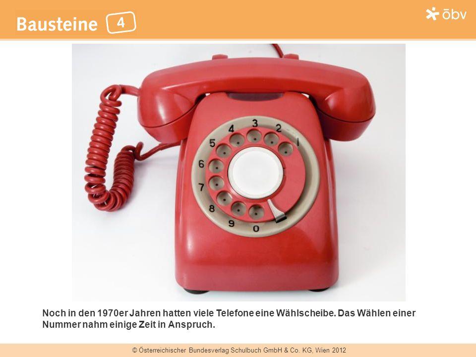 Noch in den 1970er Jahren hatten viele Telefone eine Wählscheibe