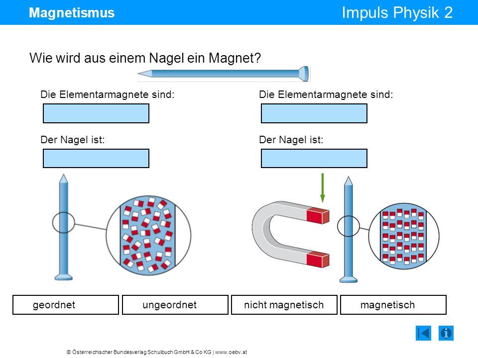 Wie wird aus einem Nagel ein Magnet