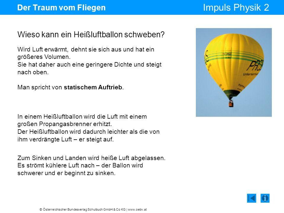 Wieso kann ein Heißluftballon schweben