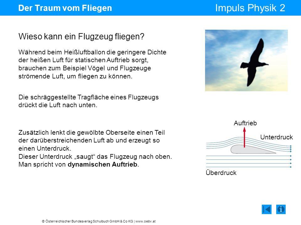 Wieso kann ein Flugzeug fliegen