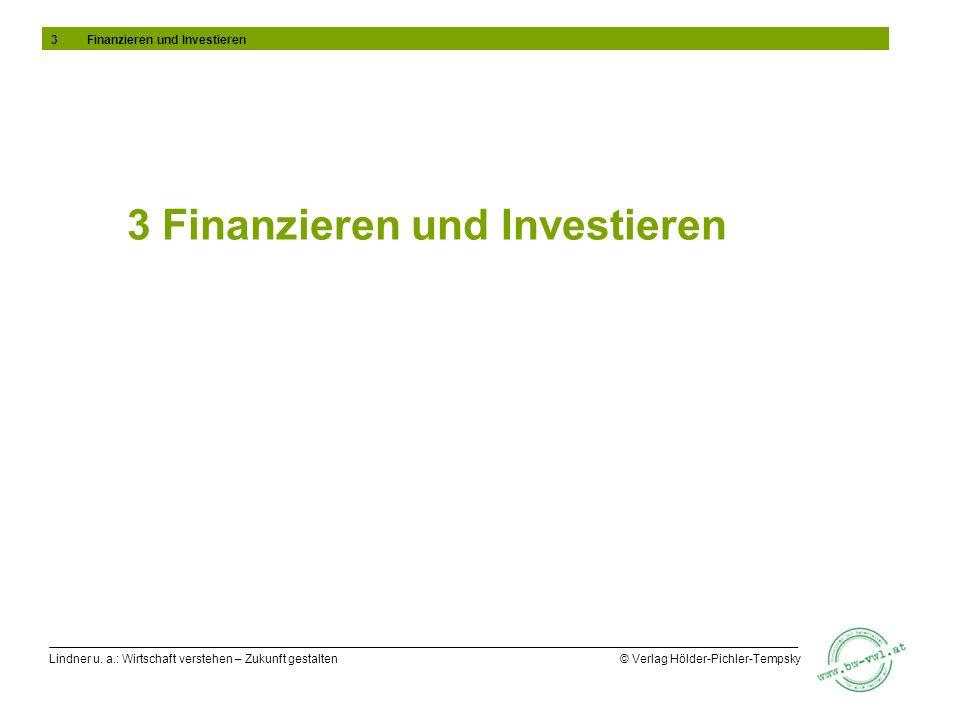 3 Finanzieren und Investieren
