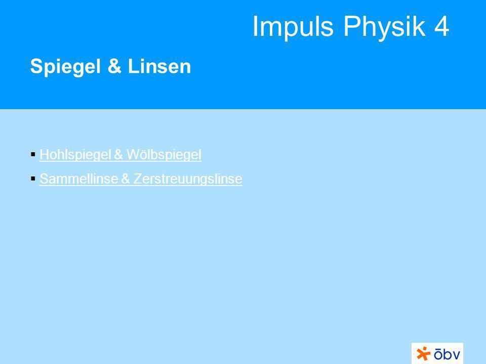 Spiegel & Linsen Hohlspiegel & Wölbspiegel