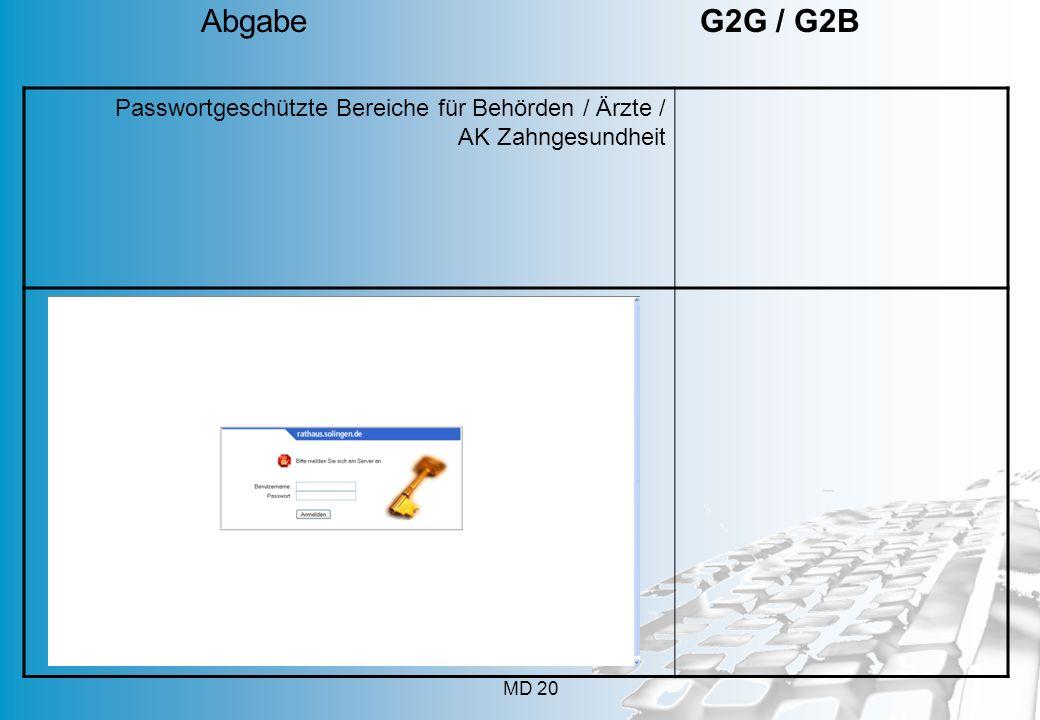 Abgabe G2G / G2B App geht's 112 Mobilfunkanschlüsse