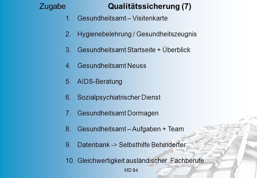 Zugabe Qualitätssicherung (7)