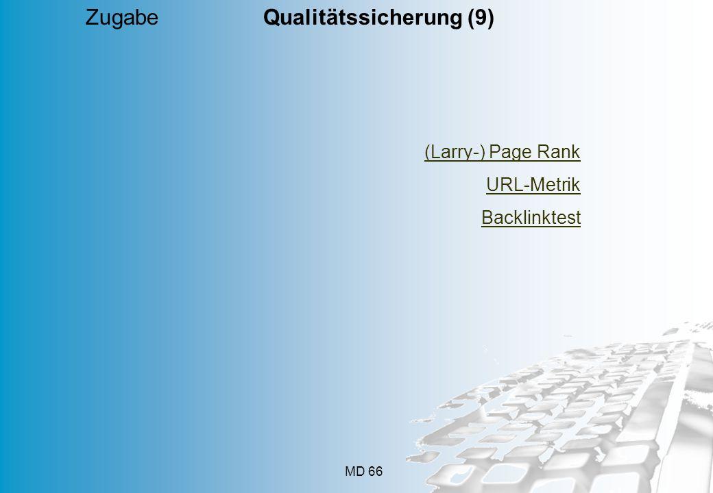 Zugabe Qualitätssicherung (9)